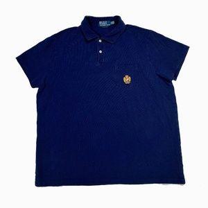 Polo Ralph Lauren Blue Crest Logo Polo shirt XL